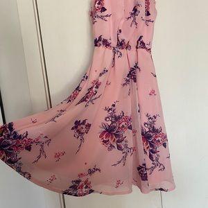 Francescas pink floral dress